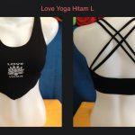 Bra Lancip Love Yoga Hitam