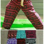 Celana Motif Gajah Pilihan Warna