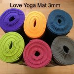 Love Yoga Mat 3 mm Pilihan Warna