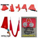 Tali Yoga Swing Merah