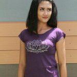 Tshirt Lotus Ungu