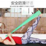 Belt Yoga Karet Hijau