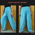 Karma Long Pant Biru Muda
