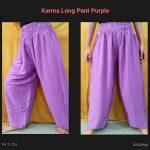 Karma Long Pant Ungu