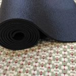 Love Yoga Mat 4,5 mm Hitam