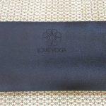 Love Yoga Mat 3 mm Hitam