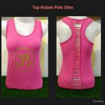 Top Robek Ohm Pink