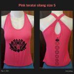 Top Yoga Silang Lotus Pink