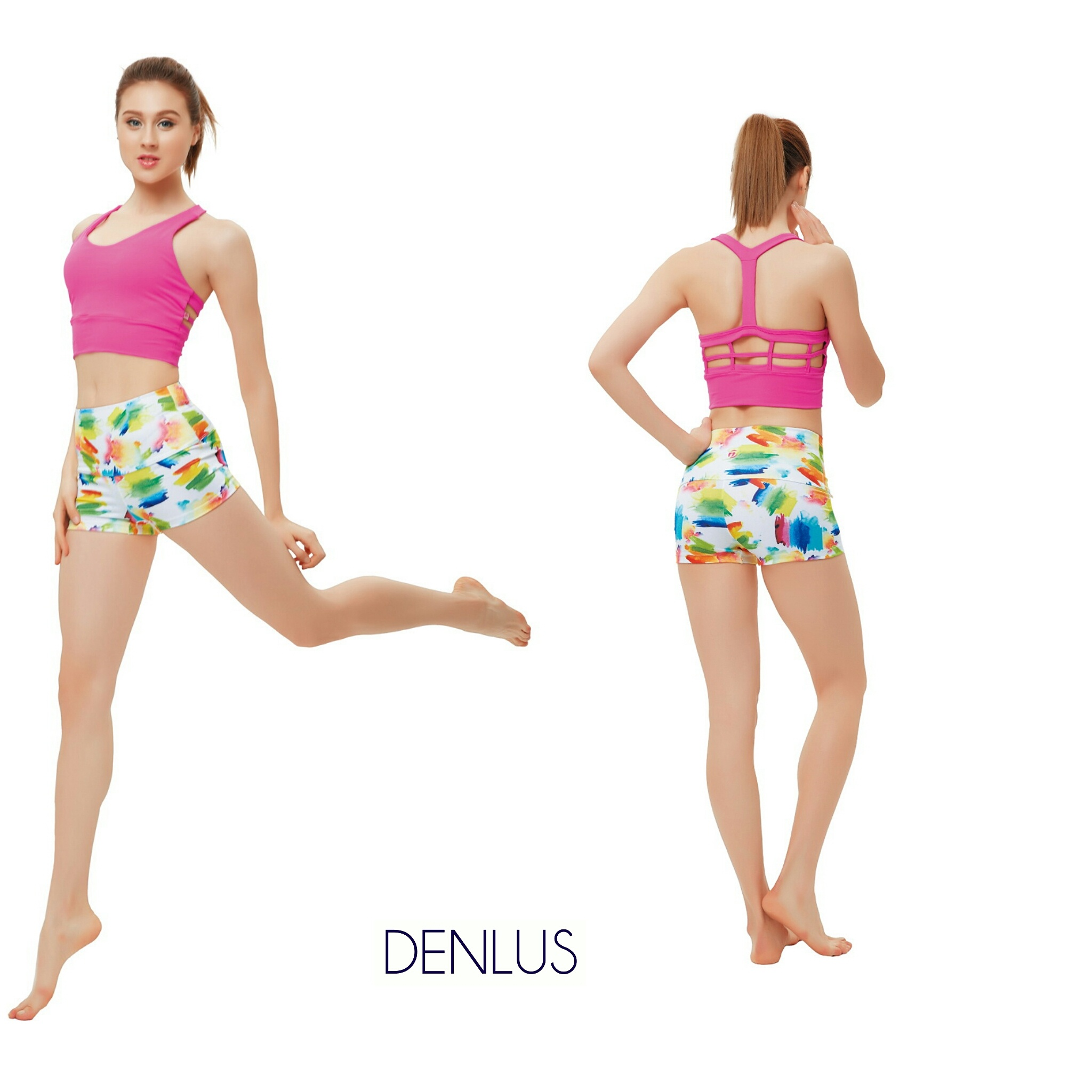 Yoga Pants Short Denlus