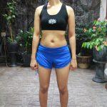 Short Pant Yoga Biru