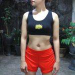 Short Pant Yoga Merah