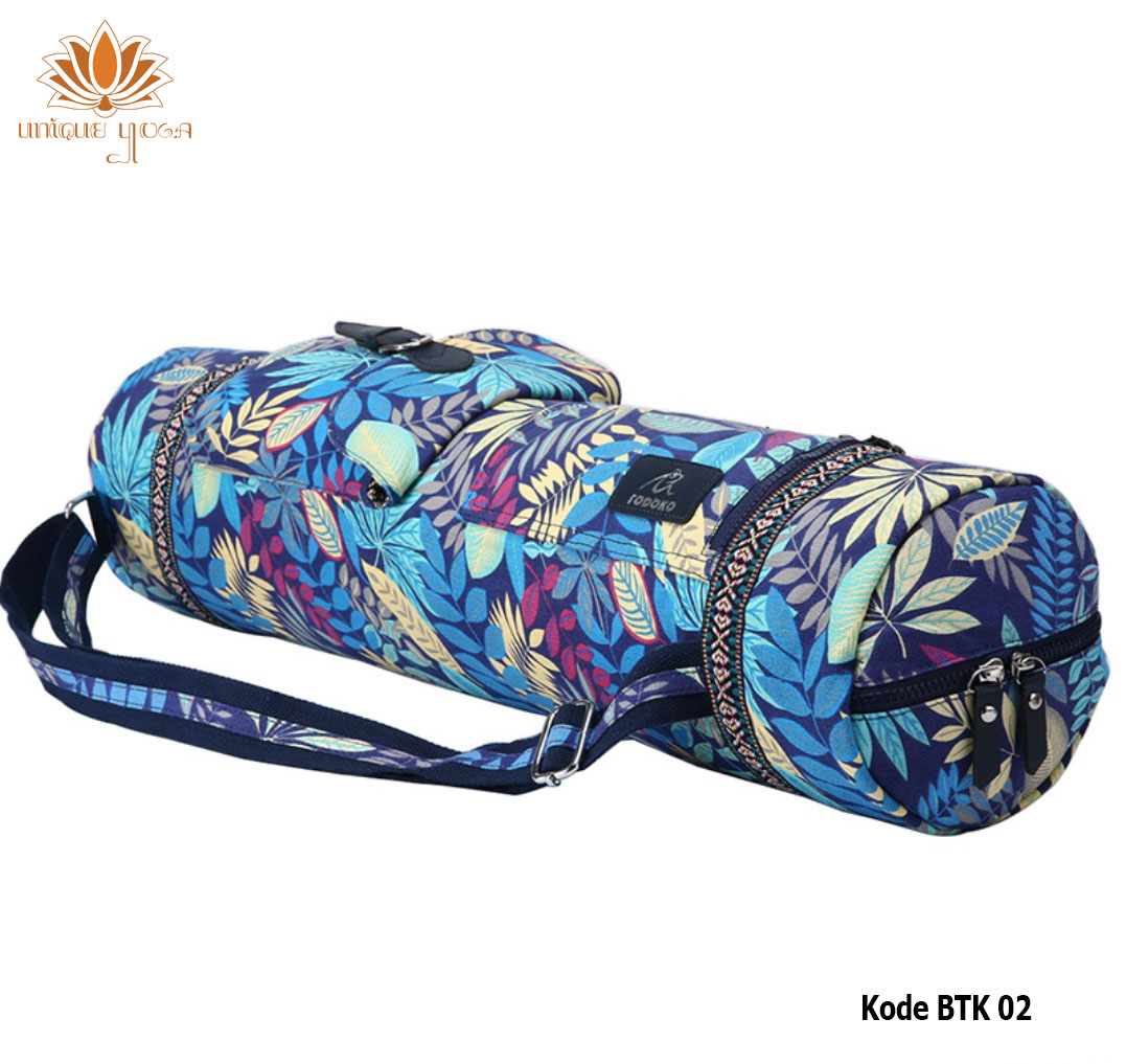 Tas Batik Daun Biru 2 Btk 02 Unique Yoga Shop